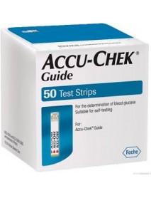 ACCU-CHEK GUIDE 50 STRISCE
