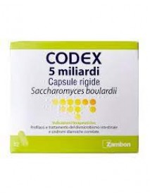 CODEX 5 MILIARDI 250MG 12 CAPSULE