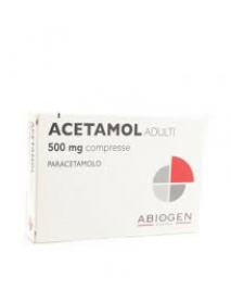 ACETAMOL 20 COMPRESSE 500 MG