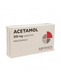 ACETAMOL BAMBINI 10 SUPPOSTE 500 MG