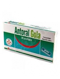 ANTORAL GOLA 20 PASTIGLIE BALSAMICHE