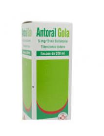 ANTORAL GOLA COLLUTORIO 5MG/10ML 200ML