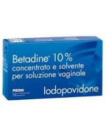 BETADINE 10% GINECOLOGICO 5 FLACONI DA 140ML