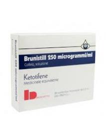 BRUNISTILL COLLIRIO 20 FLACONI 0,5ML 0,025