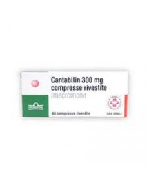 CANTABILIN 40 CONFETTI 300MG