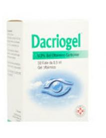 DACRIOGEL GEL 30 FIALE MONODOSE 0,5ML