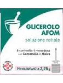 GLICEROLO AFOM 6 CONTENITORI MONODOSE 2,25G