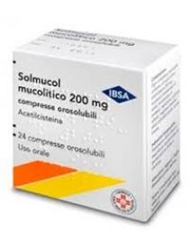 SOLMUCOL MUCOLITICO 24 COMPRESSE OROSOLUBILI 200MG