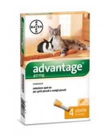 ADVANTAGE SPOT-ON 4 PIPETTE 0,4ML GATTI