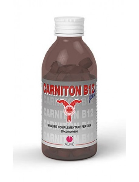 ACME CARNITON-B12 PET 80 COMPRESSE 80G