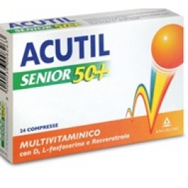 ACUTIL INTEGRATORE MULTIVITAMINICO SENIOR 24 COMPRESSE