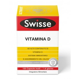 SWISSE VITAMINA D3 100 CAPSULE