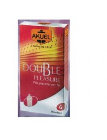 AKUEL DOUBLE PLEASURE  6PZ