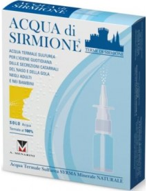 ACQUA SIRMIONE SPRAY NASALE 6 FLACONCINI