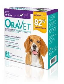MERIAL ORAVET CHEW DOG PER CANI TAGLIA M (11-23KG) 7PZ