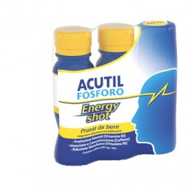 ACUTIL FOSFORO ENERGY SHOT 3 FLACONCINI DA 60ML