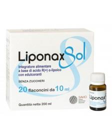 LIPONAX SOL 20 FLACONCINI DA 10ML