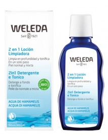 WELEDA ACQUA DI HAMAMELIS 2IN1 LATTE&TONICO 100ML