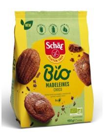 SCHAR BIO MADELEINES CHOCO150G