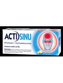 ACTISINU 12 COMPRESSE 200MG+30MG