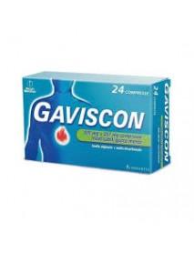 GAVISCON 24 COMPRESSE MENTA 500MG+267MG